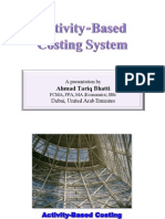 Activity-Based Costing System