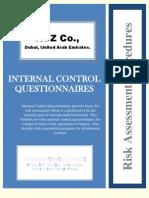 Internal Control Questionnaire (ICQs)