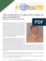 Entrevista Jorge Carvajal