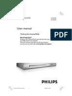 Philips DVP3040 User Manual