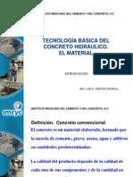 Tecnologia Del Concreto IMCYC