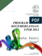 Perancangan Program Ke Arah Kecemerlangan Upsr 2012