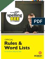 Eason Spelling Bee in-School Pack
