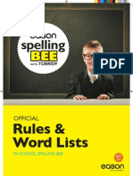 Eason Spelling Bee in-School Pack