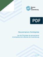 Les 10 Principes de La Gouvernance d'Entreprise