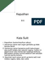 bahan keputihan 4 ppt