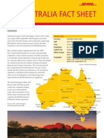 Exporting to Australia? DHL fact sheet
