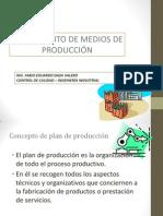 Alistamiento de Medios de Produccion