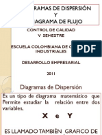 Diagrama de Dispersion y Diagrama de Flujo