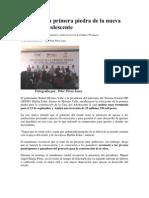 15-02-2013 Sexenio - RMV coloca primera piedra de la nueva Casa del Adolescente.pdf