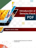 Introducción al Derecho Fiscal