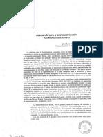 García Barrientos - Hermeneutica y representación