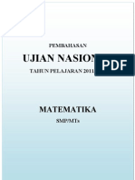 Pembahasan UN Matematika 2012 (5 Paket)