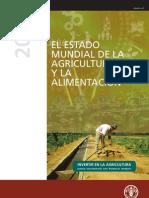 Estado de La Agricultura FAO