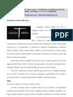 SPETTACOLI - TESPIS 2012-2013