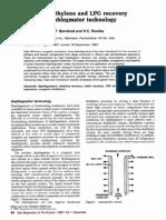 Ethylene Recovery Through Dephlegmator Technology