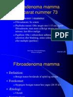 26 Fibroadenoma Mamma