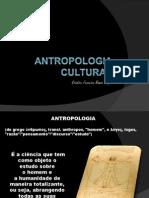 Antropologia Cultural Aula 1