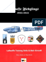 Luftwaffe Training Units and Their Aircraft 1935 1945