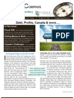 Pacifica Partners 2013 Winter Newsletter - Debt, Profits, Canada & more