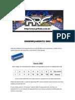 configurar enderaçemento DMX