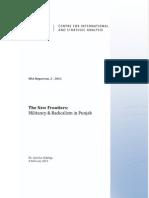 Islamic Militancy & Radicalism in Pakistan's Punjab -- Ayesha Siddiqa