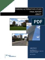 Arch Parking Alternatives Study