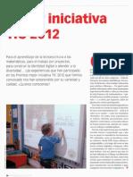 Premio TIC 2012 Revista educacion 3.0 nº8