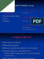 Cancer Pulmonar Prezentare Caz