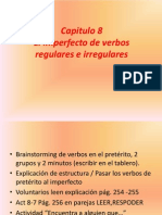 Cap 8 Imperfecto Verb Regulares Irregulares