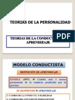 Teorias Del La Conducta y Del Aprendizaje