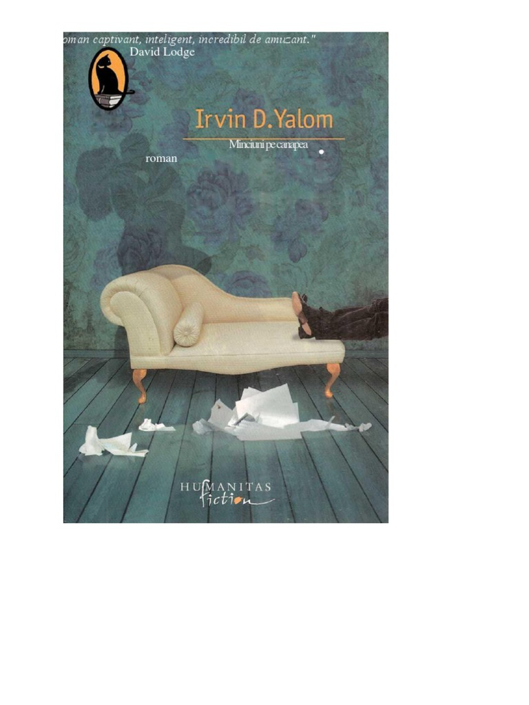 Minciuni Pe Canapea Irvin d Yalom