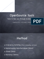 OpenSource Study Tools - A Presentation