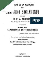 Adoracion del Santisimo Sacramento-Tesniere