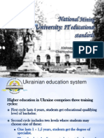 Ukrainian experience in adaptation of study programmes to needs of local markets