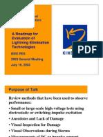 Roadmap for Assessment of Lightning Mitigation Technologies