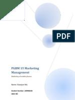PGBM 15 Marketing Management