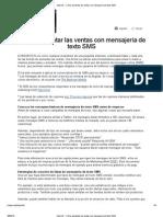 Cómo aumentar las ventas con mensajería de texto SMS.pdf