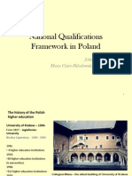 National Qualifications Framework in Poland