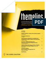 Themelios Volume 33 Issue 3