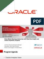 Oracle BI strategy