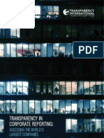 TI - Transparency in Corporate Reporting