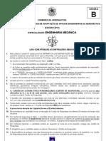ENGENHARIA MECÂNICA - VERSÃO B