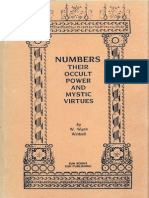 NUMBERS THEIR OCCULT POWER AND MYSTIC VIRTUES