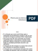 Profilaxia da Infecção de Sítio Cirúrgico