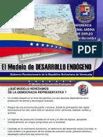 1 Modelo de Desarrollo Endogeno Chavez