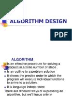 2.2 Algorithm Design