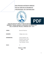 Informe Final Gerencia Financiera