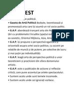 MANIFEST Gazeta de arta politica