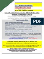 KSOM 2013 March Registration Form